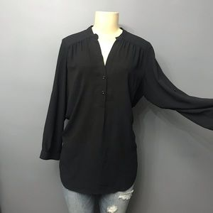 Halogen 3/4 Sleeve Dressy Top Small